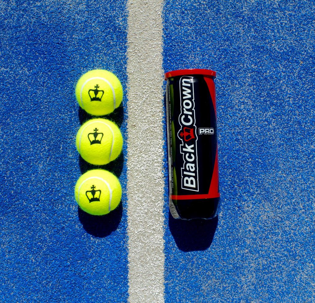Pelotas de pádel Black Crown