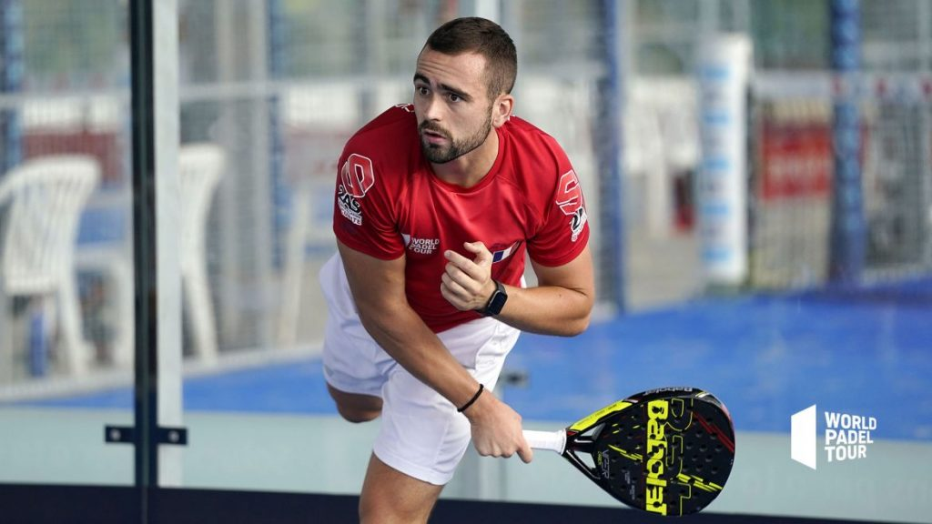 Bastien Blanqué Smash world padel tour