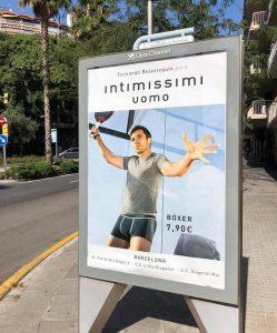 Belasteguin publicité Intimissimi Uomo