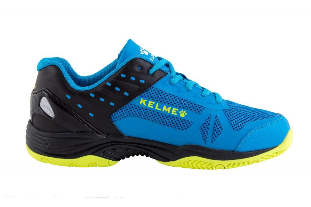 Chaussure de padel Kelme K-Drex jaune côté extérieur