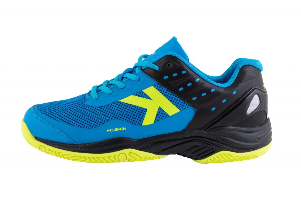 Kelme K-Drex padel shoe yellow inside
