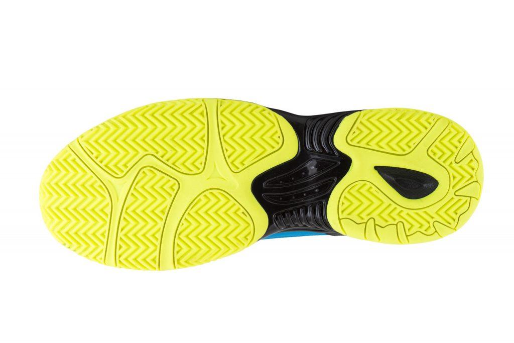Chaussure de padel Kelme K-Drex jaune semelle
