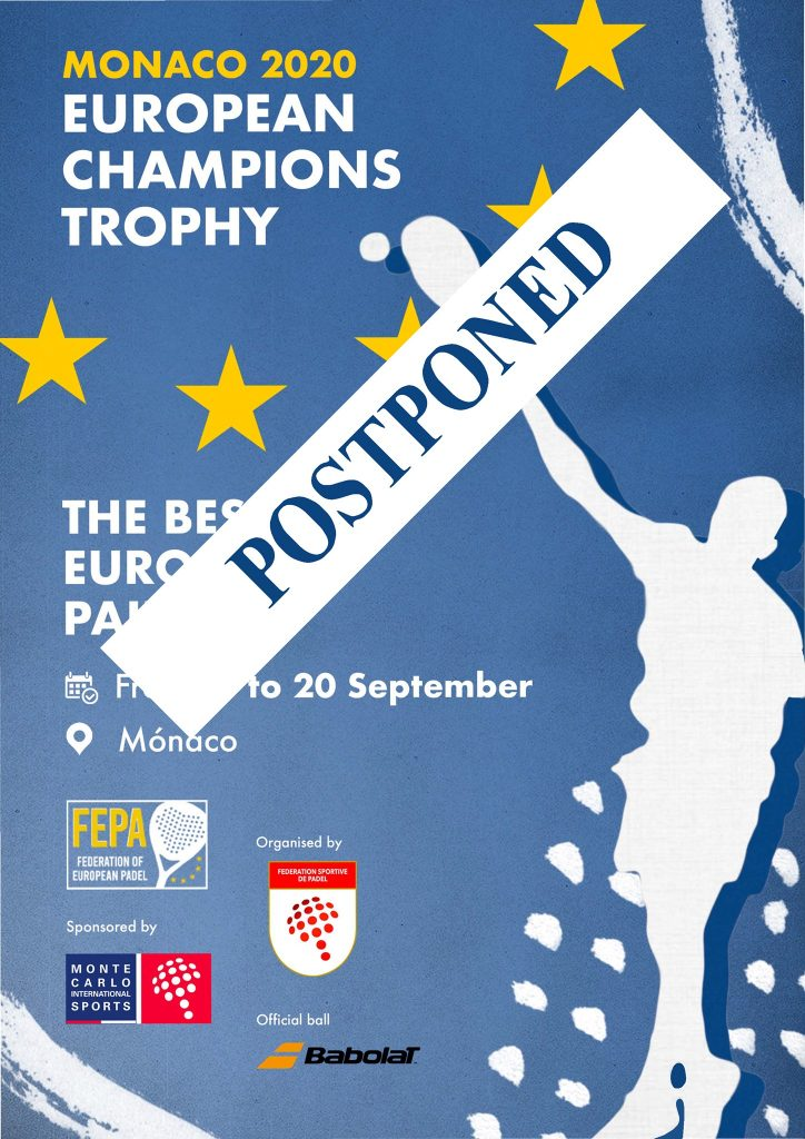 European Champions Trophy postponed