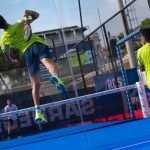 Juan Tello smash suspension World Padel Tour