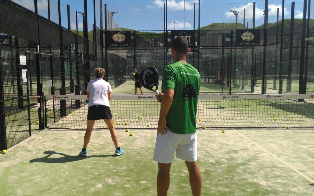 Why is padel played differently in Spain?