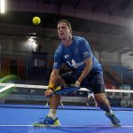 Paquito Navarro lob backhand after window
