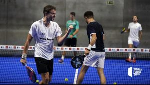 Scatena tison world padel tour poing victoire