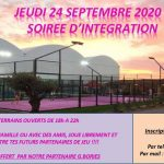 Padel Club Albigeois integration evening