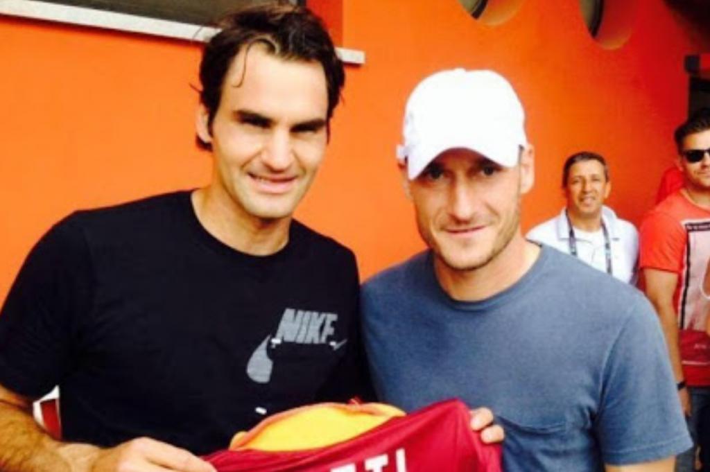 """Totti: """"Op een dag zal ik Federer uitdagen Padel"""""""