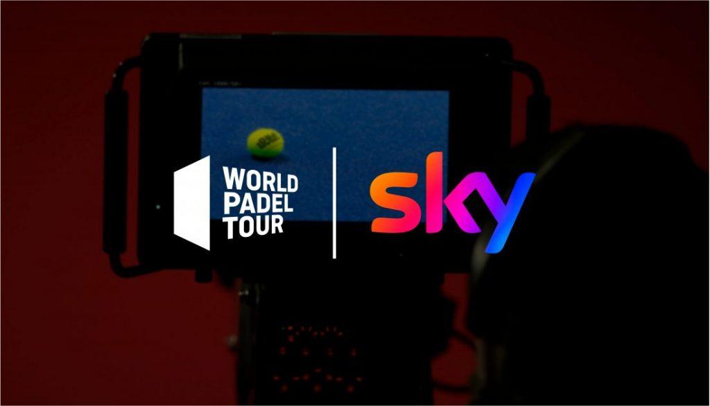 WPT: ¡retransmisión de pádel por TV en Sky!