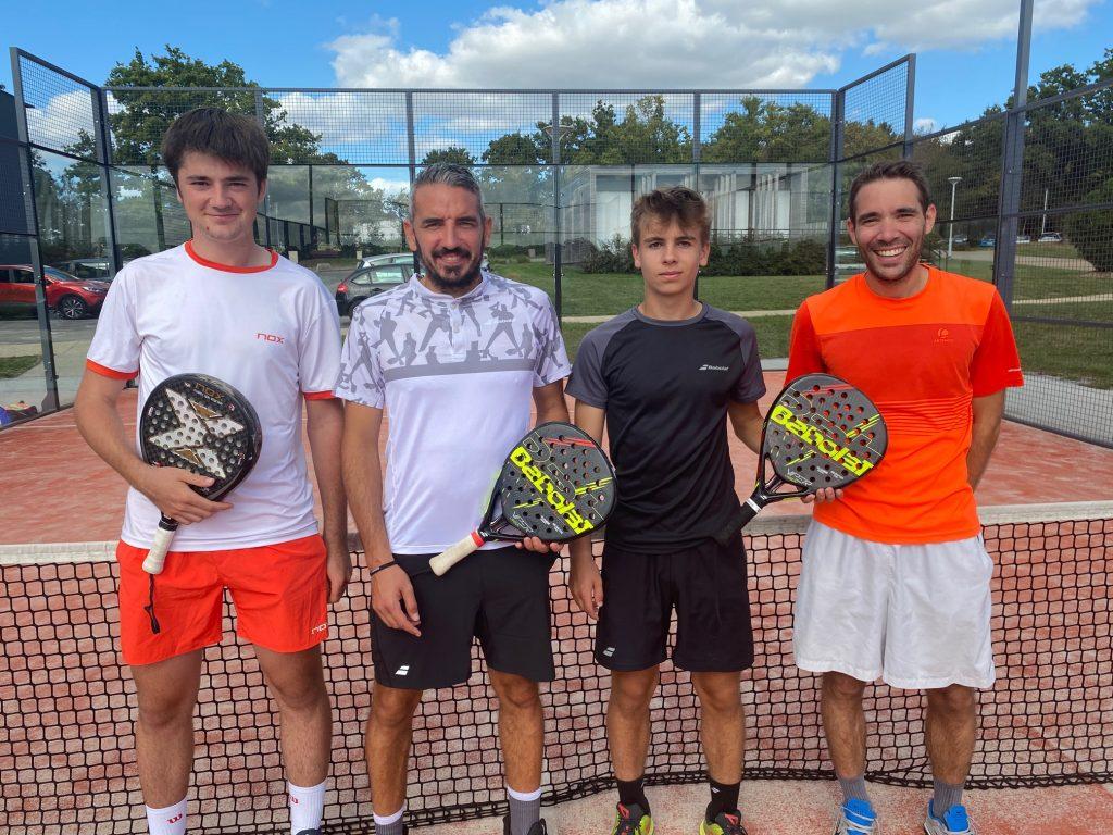 Der Tennis Club de Châteaubriant setzt auf das Padel