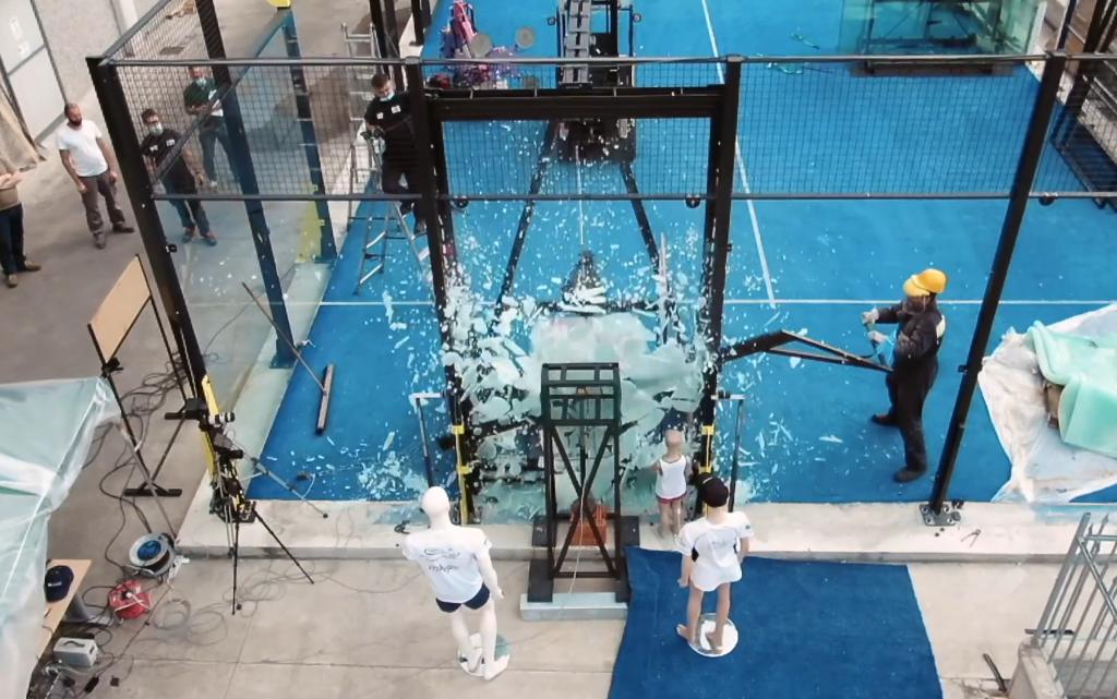 La prueba de choque en video: ¡Impresionante!