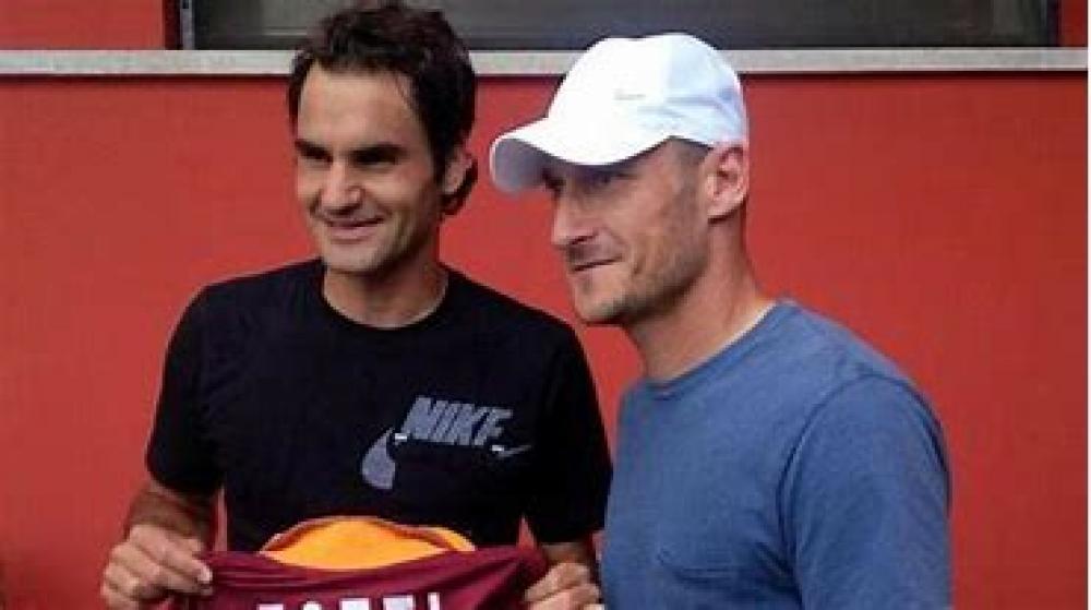 Federer Totti Padel Tennis Sky Sport Herausforderung