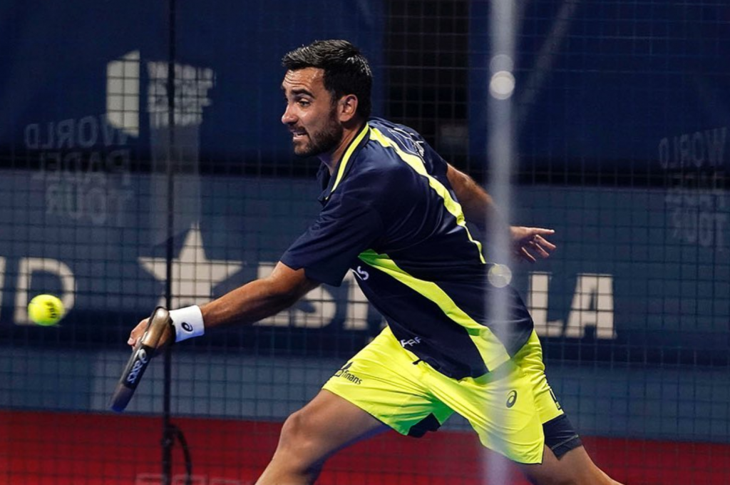 Linkshänder Pablo Lima world padel tour bilbao covid