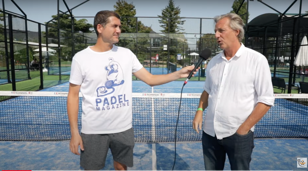 "Christophe Lesage: ""The National Padel Cup 2020 blir vacker """