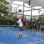 pubblico di paddle piramidi spettatori belasteguin volley smash
