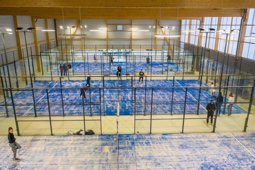 Loire Vallée Padel : la ligue du Centre Val de Loire s'offre 3 courts !
