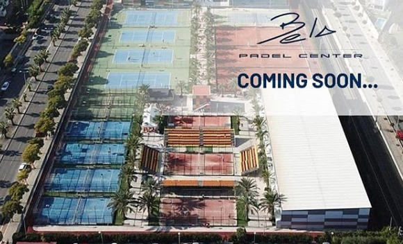 Soon a Bela Padel Center, in Alicante