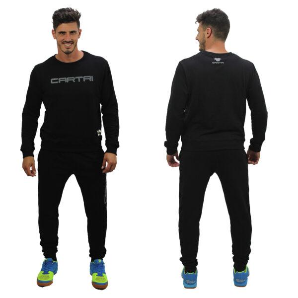 Cartri sudadera pantalón jogging negro
