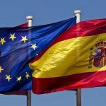 Drapeaux Espagne-Europe