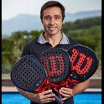 Fernando Belasteguin três raquetes Bela Pro Wilson