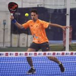 Javi Perez forehand volley bullpadel vertex world padel tour