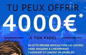 jeux concours padel exprience streaming
