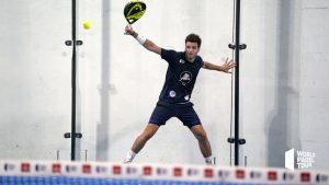 Johan Bergeron revers world padel tour