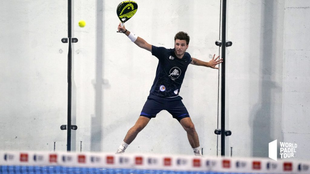 Johan Bergeron backhand world padel tour