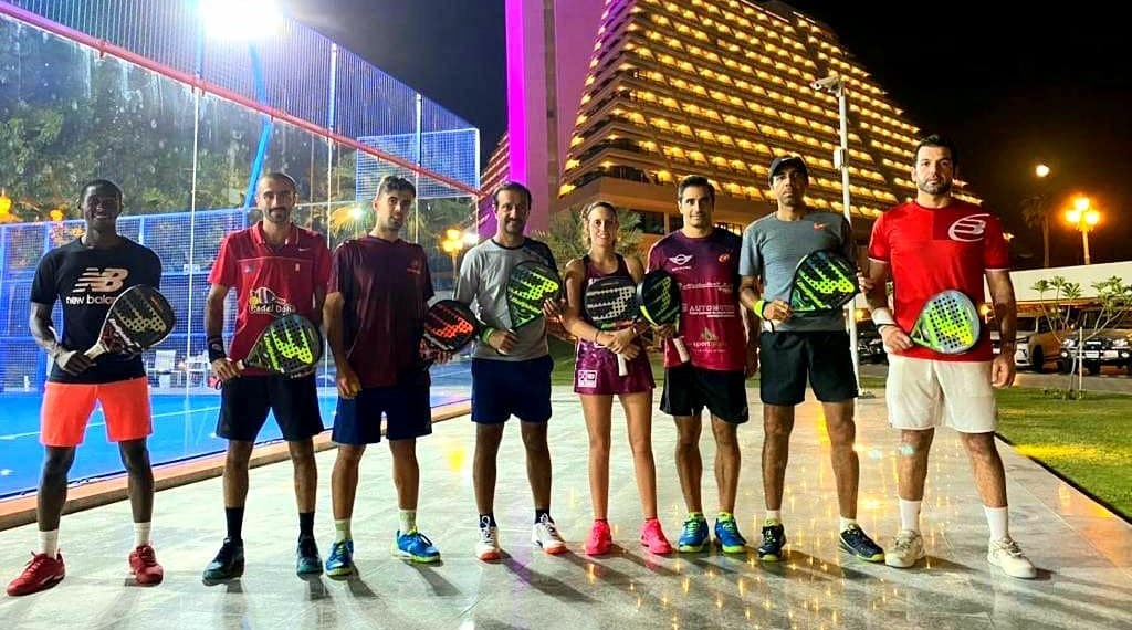 Padel crescendo no Catar