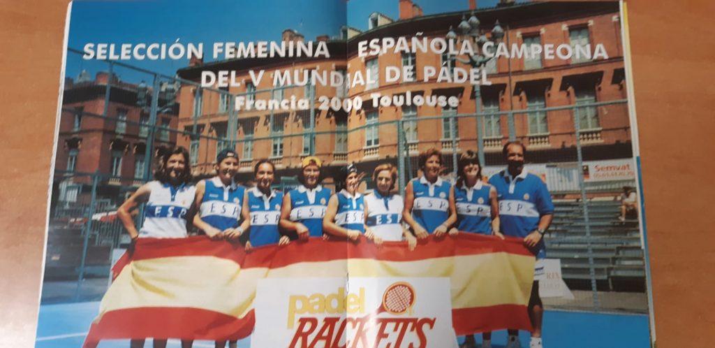 Photo selection espagnole dames mondial france 2000