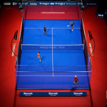 World Padel Tour panoramique demi finales Barcelona Master