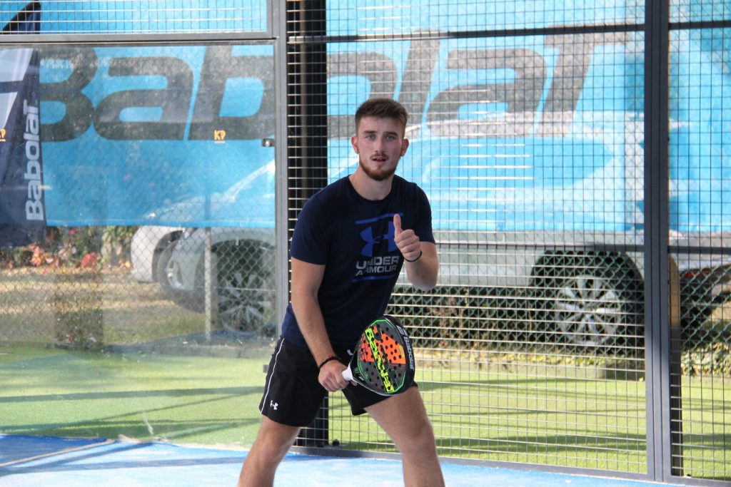 Justin Marlot: the Tapia of padel French?