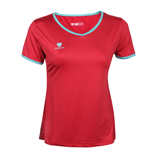 tshirt femme cartri rouge