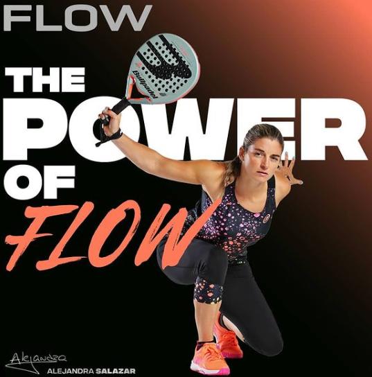ALejandra Salazar Bullpadel power of the flow