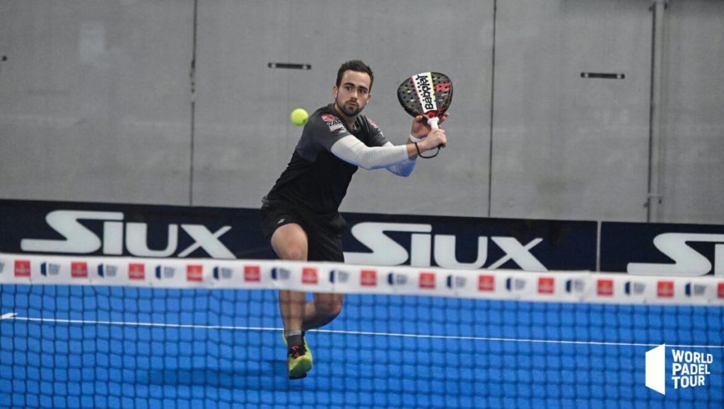 Bastien Blanqué voleibol de backhand world padel tour