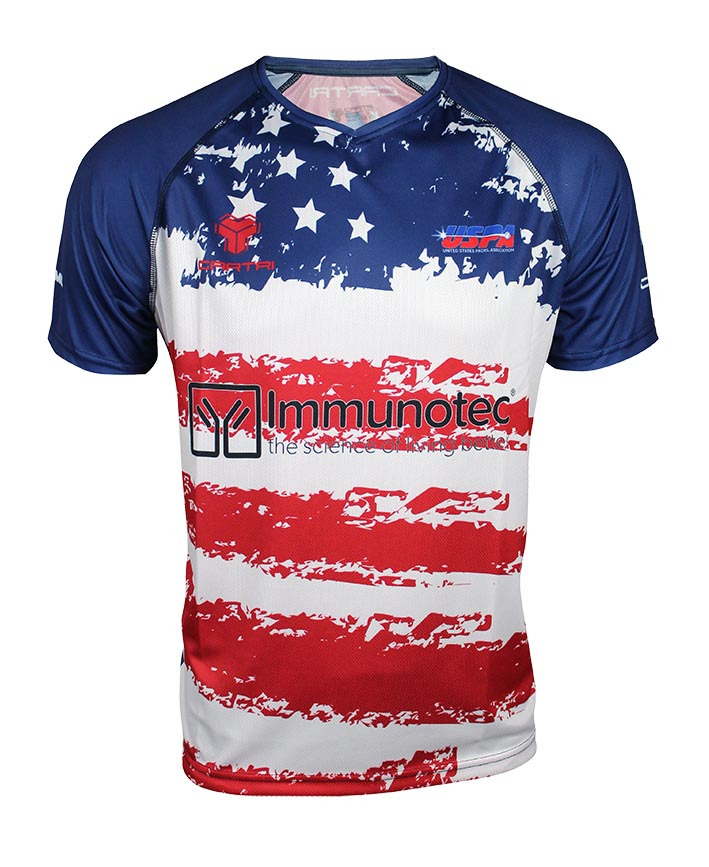 Cartri t shirt USA padel