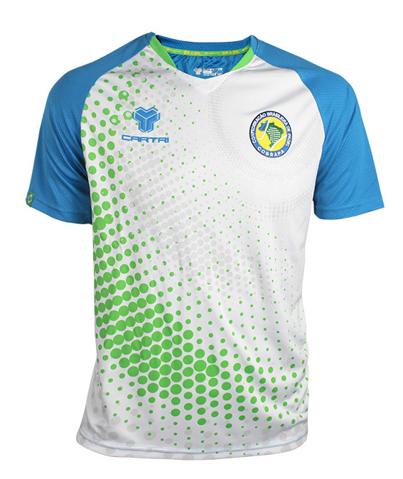 Camiseta cartri brasil padel