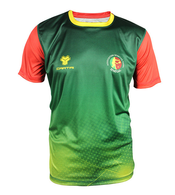 Cartri t shirt sénégal padel