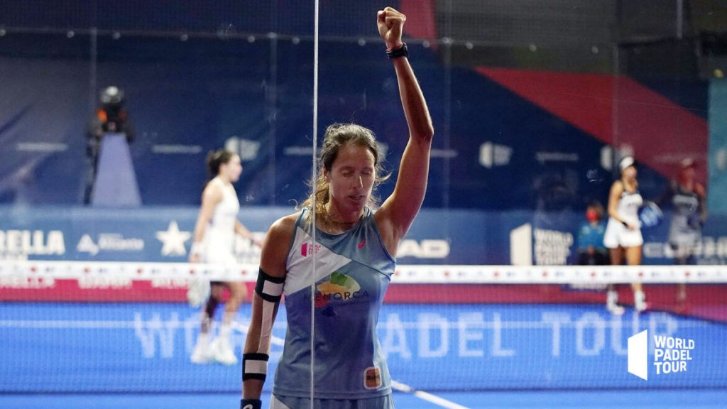 Finale dames Alicante Open – Quel point incroyable !