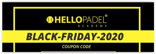 Le Black Friday Hello Padel Academy