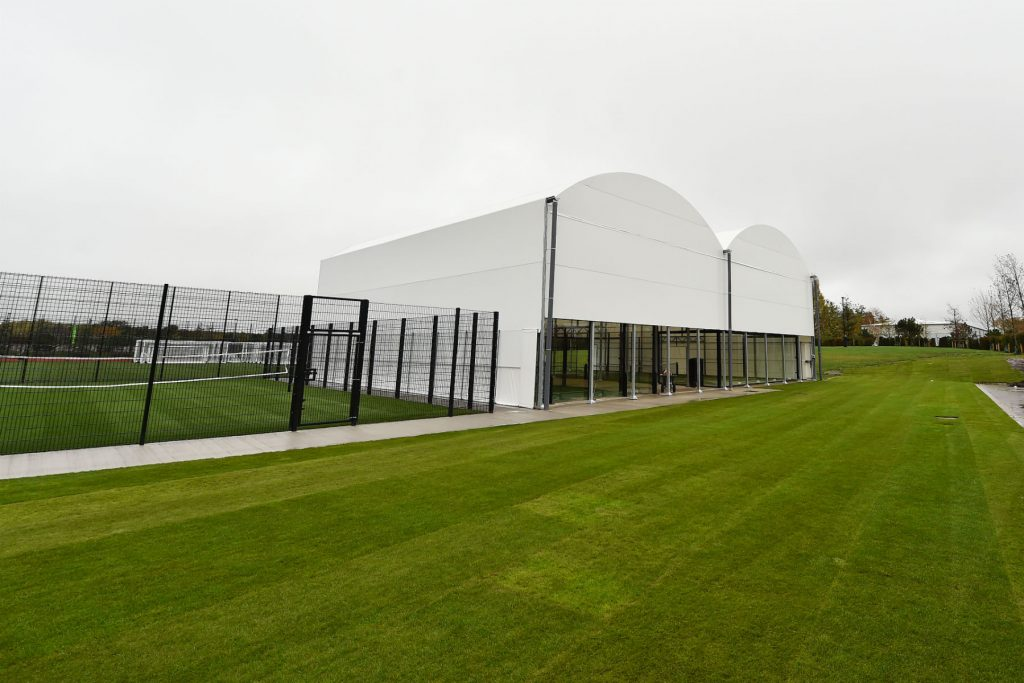 Liverpool Axa Training Centre padel filet