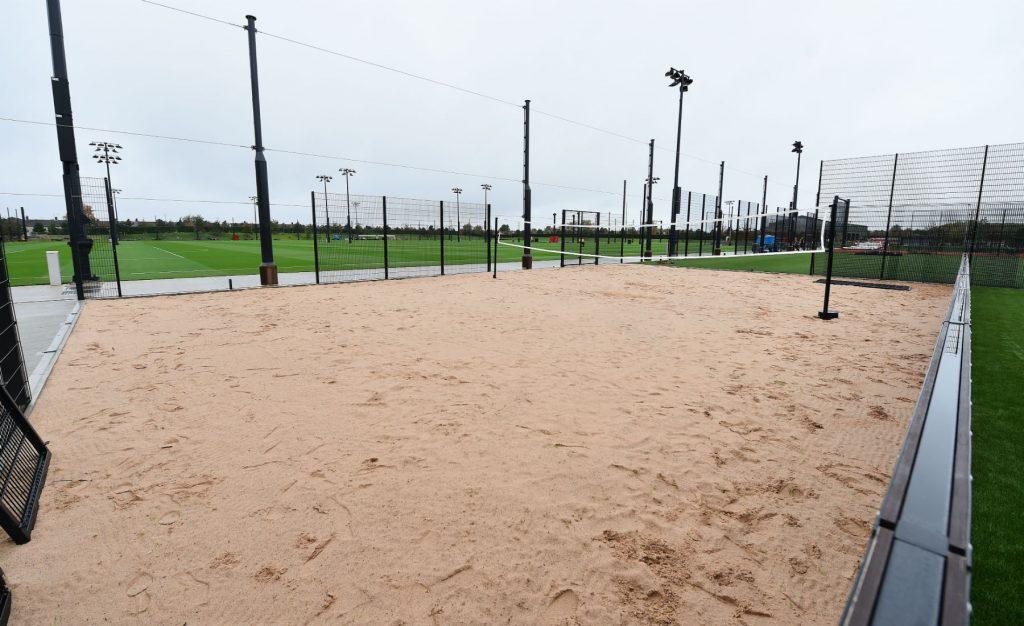 Liverpool FC Axa Training Center beach volley