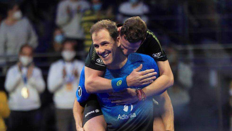 Navarro et Diaz champions d'Espagne 2020 !