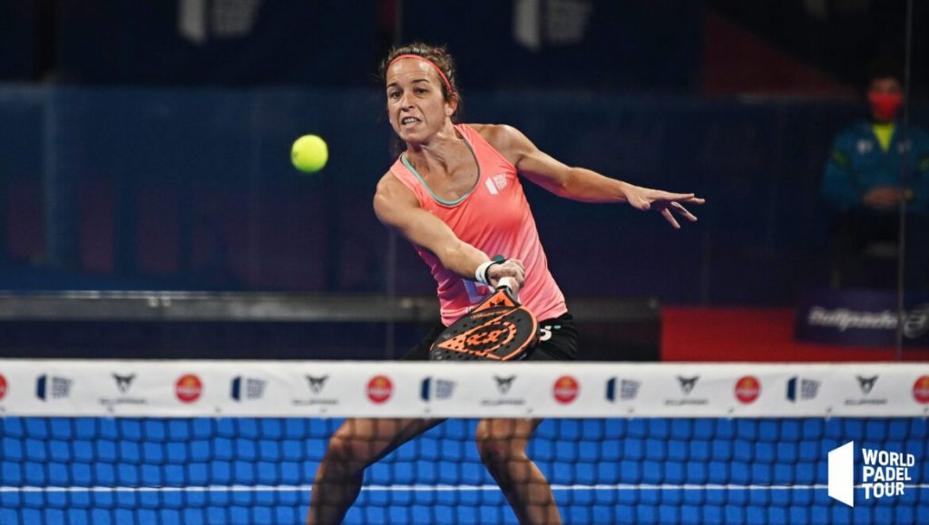 Patty Llaguno volée World padel Tour