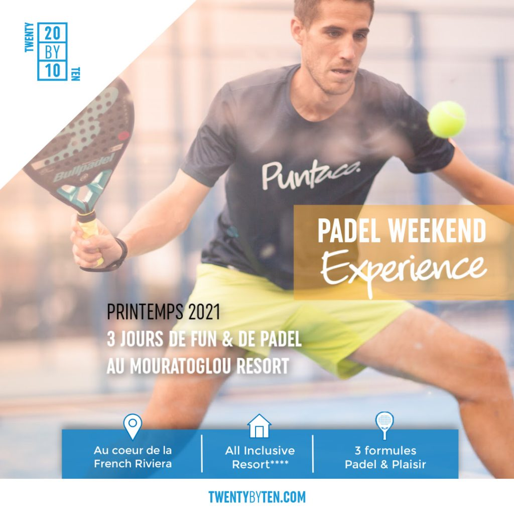 Stages padel twenty by ten