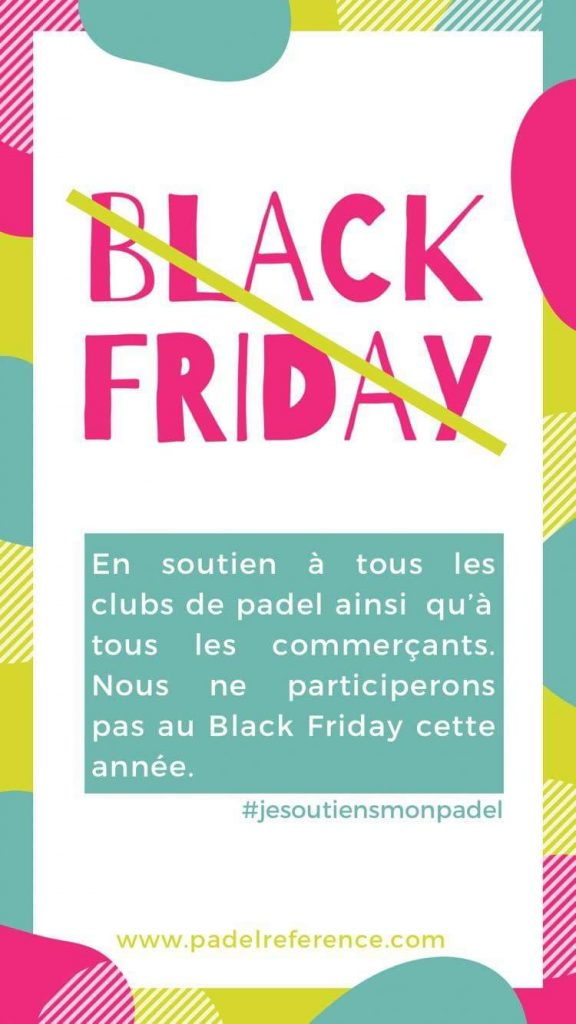 black friday padel reference