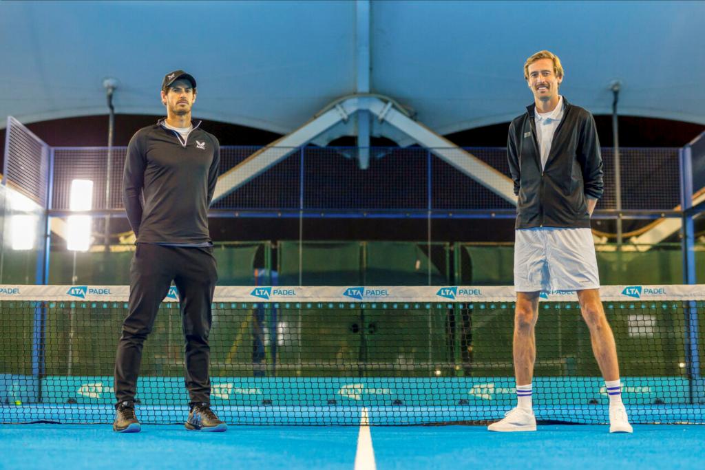 Murray / Crouch: nie do zagrania na padel ?