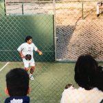 diego maradona padel coupe du monde 1996