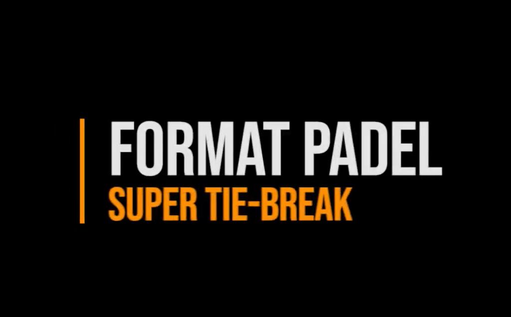 format padel tiebreaker